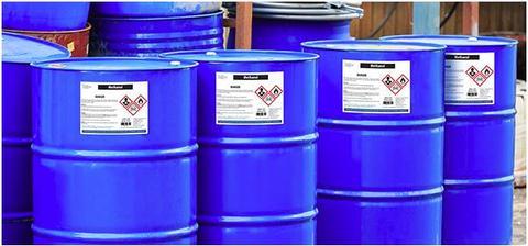 barrels or industrial materials